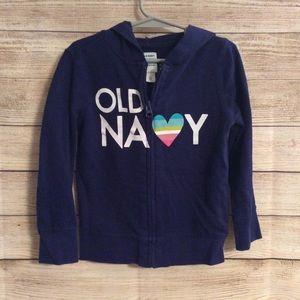 Old Navy Girls Zip-up Hoodie